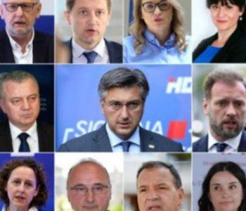 Plenković objavio imena ministara nove vlade