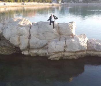Kandidat Mosta skočio sa stijene