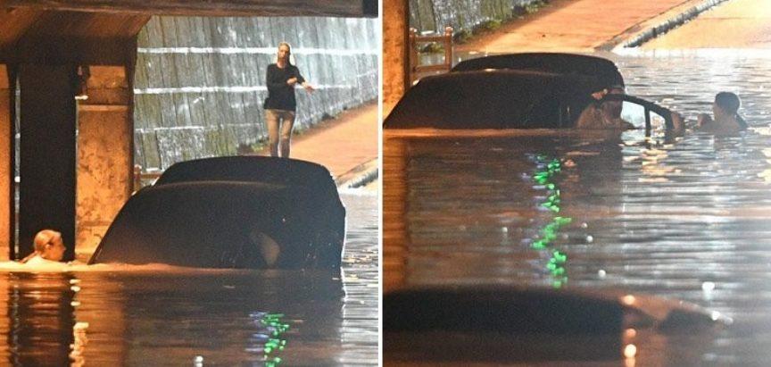 Zagrebačka heroina spasila čovjeka iz tonećeg auta