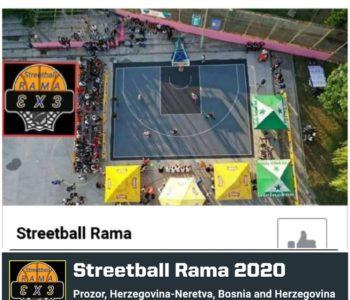 """HKK Rama organizira tradicionalu uličnu košarku  """"Streetball Rama 2020"""""""