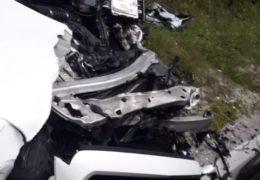 Teška prometna nesreća na Makljenu