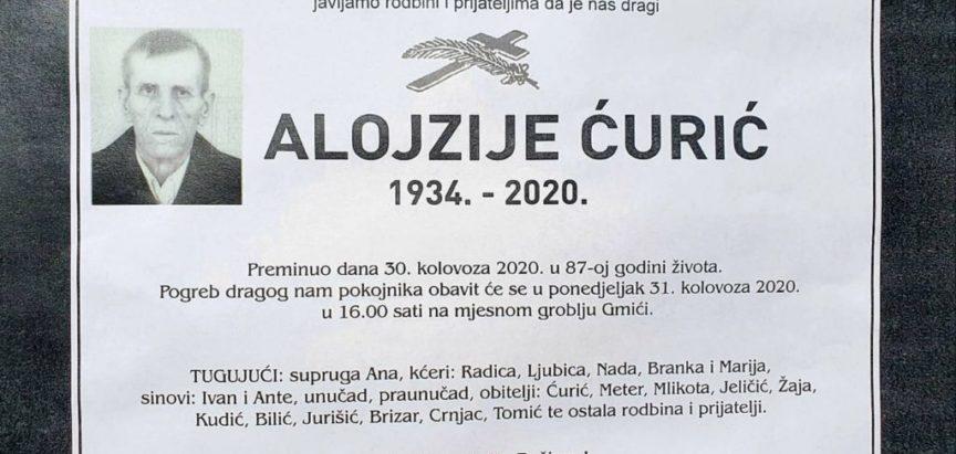 Alojzije Ćurić