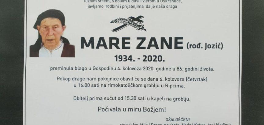 Mare Zane