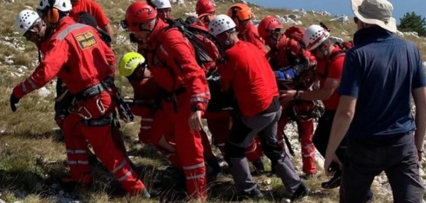 Dva paraglajdera pala na Biokovu, u spašavanje bio uključen i helikopter