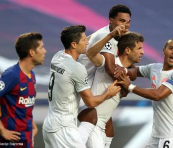 LIGA PRVAKA: Svemirski nogomet Bavaraca: Bayern ponizio Barcelonu u Lisabonu