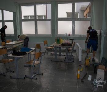 Foto: Izvršena izmjena radijatora u Srednjoj školi Prozor