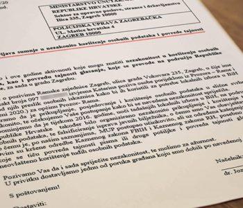 Mediji u Hrvatskoj i BiH: Načelnik općine iz BiH prijavio hrvatskoj policiji lažiranje popisa birača