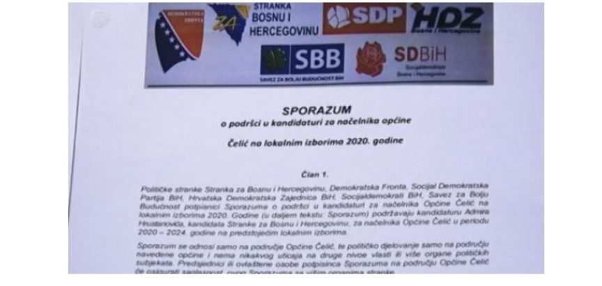 Vjerovali ili ne: Čović i Komšić u koaliciji protiv Izetbegovića
