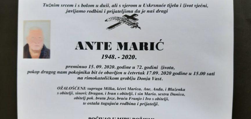 Ante Marić