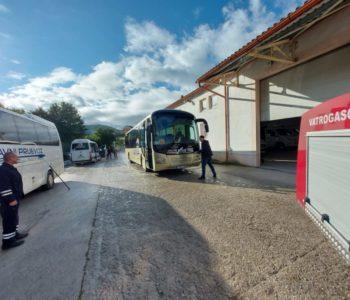 Izvršena dezinfekcija autobusa i prostorija d.o.o. Javni prijevoz