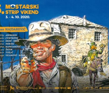 NAJAVA: Manifestacija Mostarski strip vikend