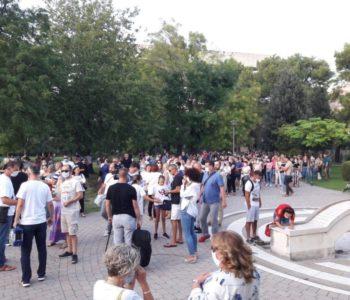 Prosvjedi roditelja u Mostaru