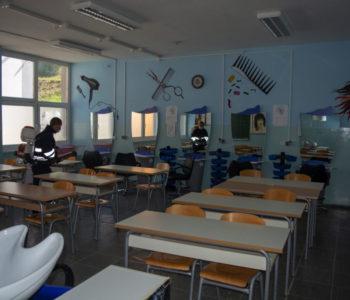 Foto: Izvršena dezinfekcija prostorija Srednje škole Prozor