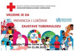 CRVENI KRIŽ: Obilježavanje Tjedna borbe protiv tuberkuloze