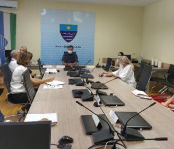 Održan sastanak Kriznog stožera Ministarstva zdravstva, rada i socijalne skrbi HNŽ