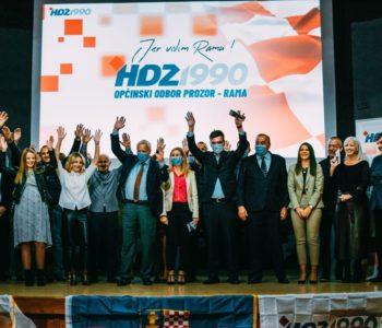 Priopćenje HDZ 1990 Prozor-Rama