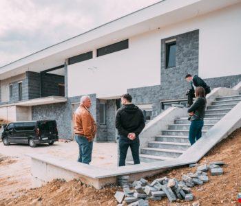 Načelinik dr. Ivančević obišao gradilište nove mrtvačnice u Prozoru
