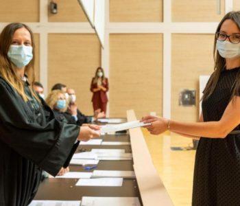 Ružica Perić dobitnica  Dekanove nagrade  na smjeru Dentalne medicine Medicinskog fakulteta  Split