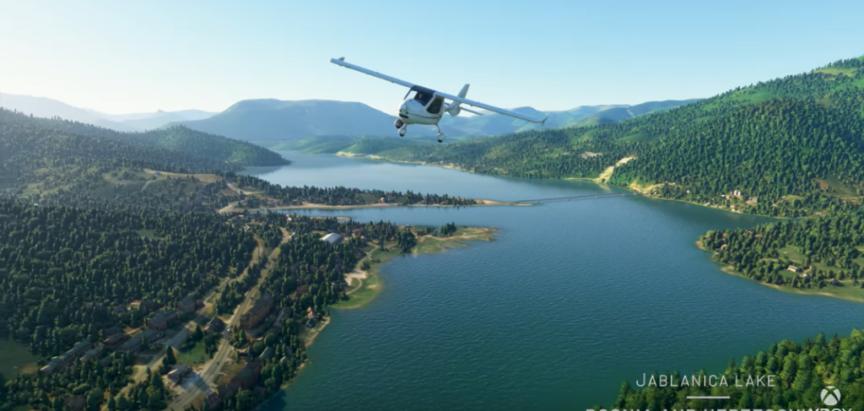 Microsoft Flight Simulator ističe ljepote naše regije