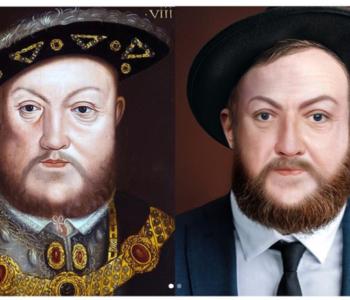 Grafička dizajnerica prikazuje kako bi povijesne ličnosti izgledale da žive u sadašnjosti