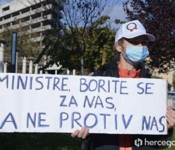 Zdravstveni djelatnici u HNŽ-u 7.12. u generalnom štrajku?