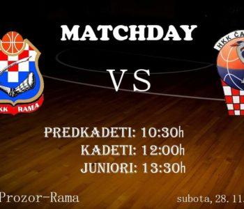 Najava: Košarkaši Rame će ugostiti vršnjake iz Čapljine