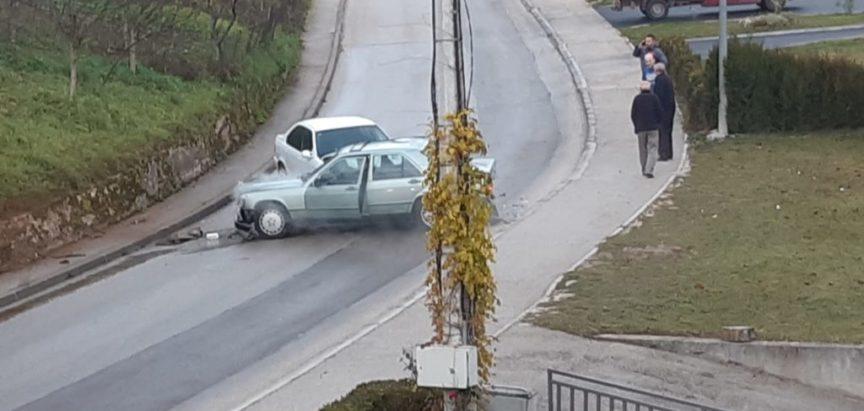 Prometna nezgoda na ulazu u Prozor iz pravca Ometala