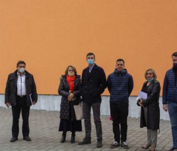 Snježana Köpruner, vlasnica i direktorica tvornice  GS TMT Travnik posjetila Srednju školu Prozor