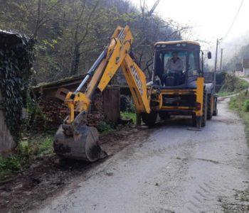 Započeli  radovi kroz naselje Lovnica u Gračacu