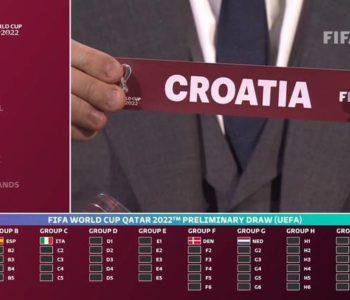 Kvalifikacije za Svjetsko prvenstvo 2022. – Hrvatska nositelj H skupine, a BiH s Francuskom