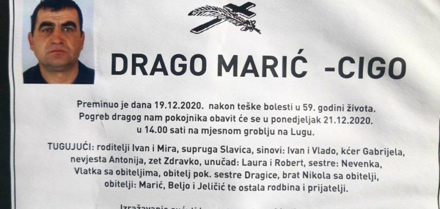 Drago Marić – Cigo