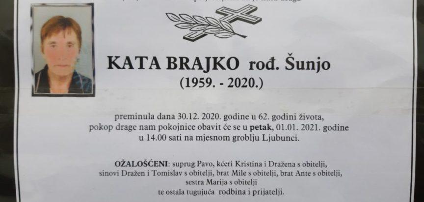 Kata Brajko rođ. Šunjo