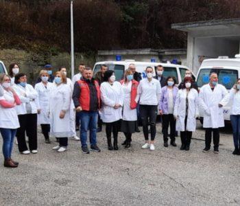 """Zdravstveni djelatnici Doma zdravlja """"Rama"""" podržavaju Generalni štrajk djelatnika u Zdravstvu HNŽ-a"""