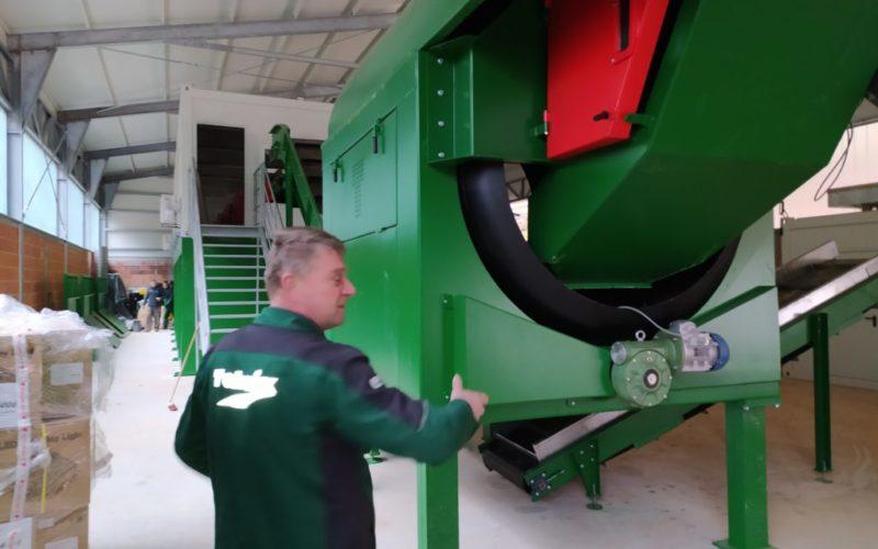 U tijeku montaža strojeva u sortirnici