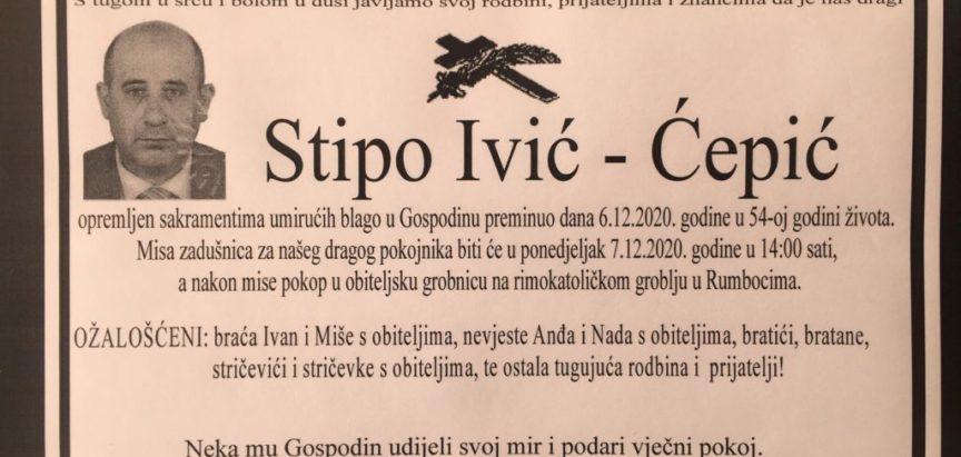 Stipo Ivić – Ćepić