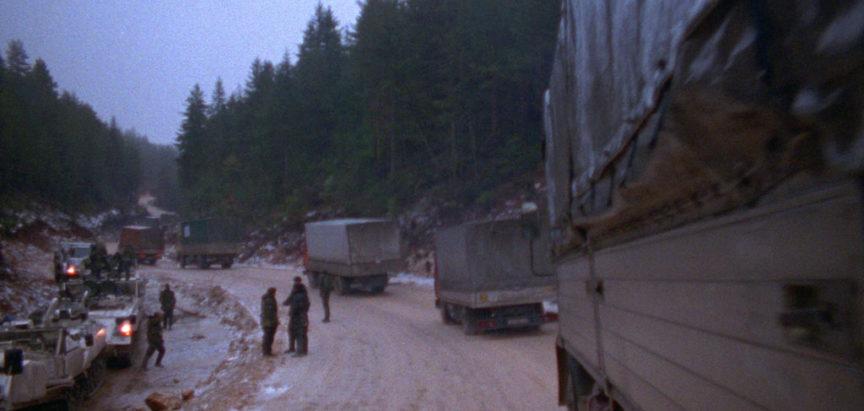 Konvoj Bijeli put krenuo je za Novu Bilu i Bosnu Srebrnu 10. prosinca1993.