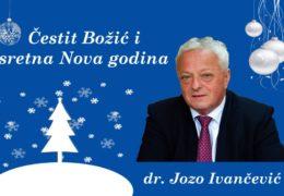 Božićna i novogodišnja čestitka načelnika općine Prozor-Rama dr. Joze Ivančevića