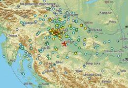 Snažan zemljotres s epicentrom kod Zagreba osjetio se u BiH