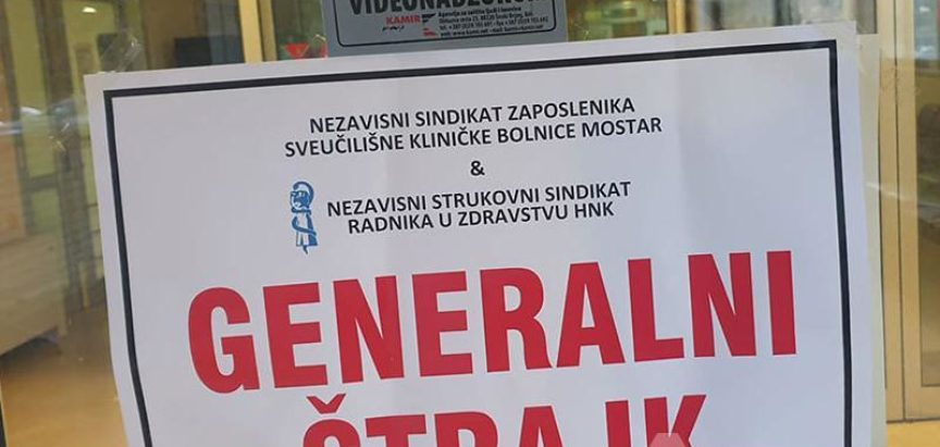 Štrajk u zdravstvu HNŽ-a!