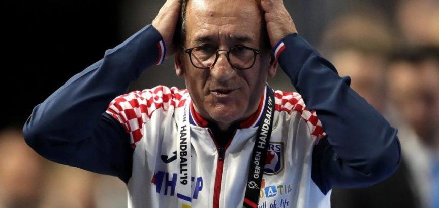 Lino Červar, izbornik hrvatske rukometne reprezentacije dao otkaz