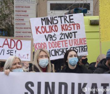 Vlada HNŽ-a putem suda zabranila štrajk zdravstvenih djelatnika. Hoće li nam zabraniti i disanje?