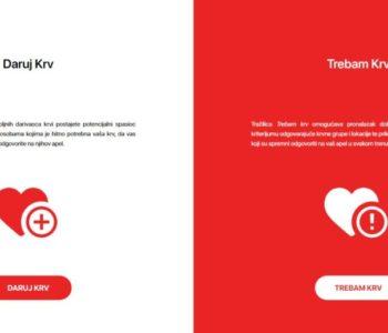 Mladi BiH osmislili aplikaciju koja povezuje darivtelje krvi sa onima kojima je krv potrebna
