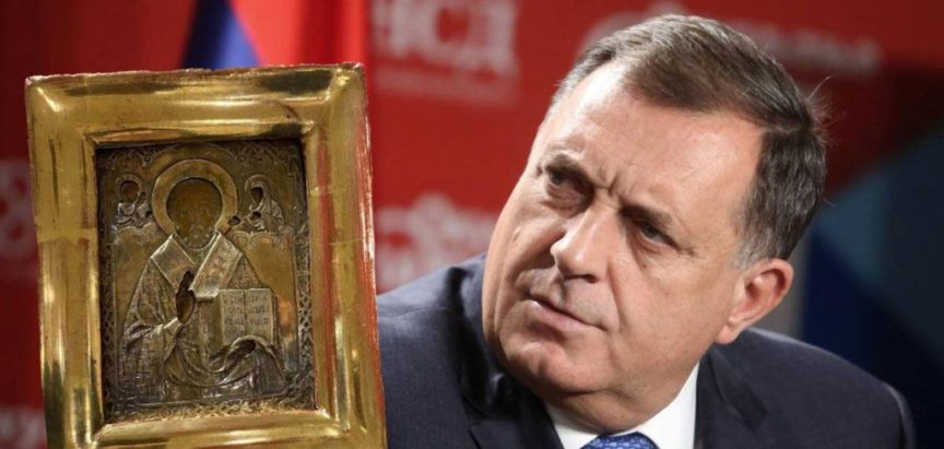 Afera Ikona se nastavlja: Dodikova ikona postala predmet, ispitan ruski veleposlanik