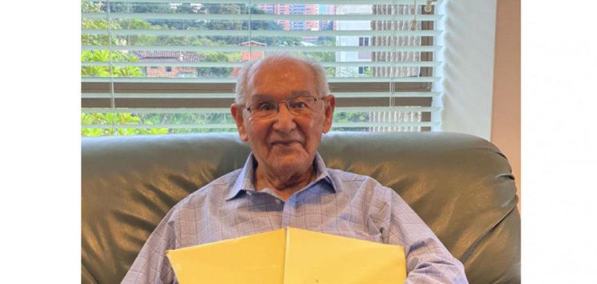 104-godišnjak za vrijeme pandemije završio doktorski rad