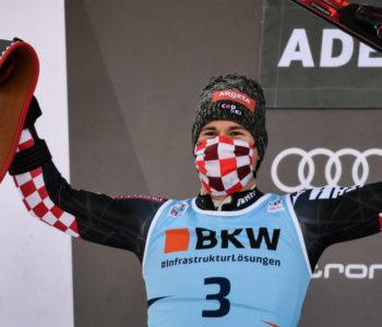 Odlični Filip Zubčić zauzeo drugo mjesto u švicarskom Adelbodenu