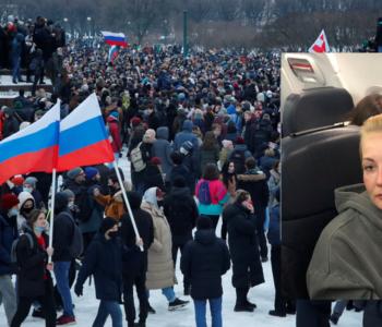 Prosvjedi u Rusiji: Uhićeno najmanje 1500 ljudi