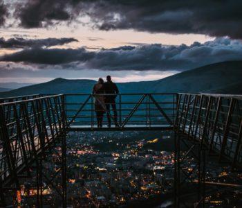 FOTO: Mostarski Skywalk i grad kao na dlanu
