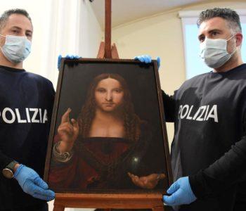 Pronađena ukradena kopija Da Vincijeve slike, stara 500 godina