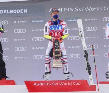 Hrvatski skijaš Filip Zubčić i danas na postolju