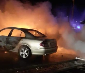 Požar u salonu automobila u Vitezu